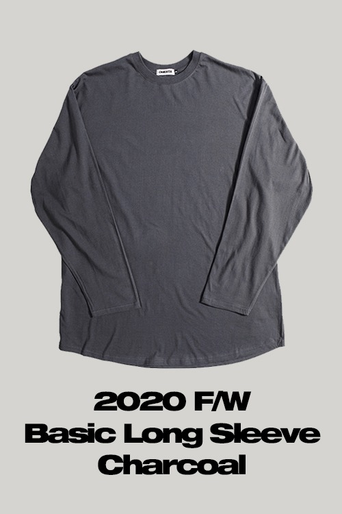 2020FWBasic Long SleeveCharcoal