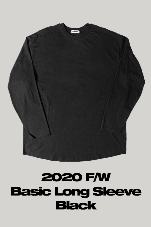 2020FWBasic Long SleeveBlack