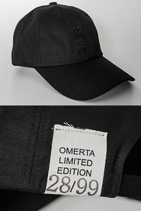 LTD Baseball Cap 1st  Black