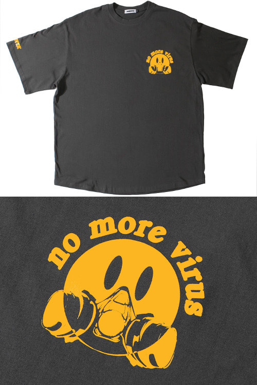 2020SSOverfit T-Shirts'no more virus'2차 입고 완료