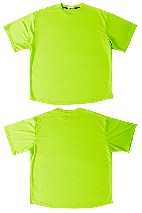 "2020SSMesh Tee""BASIC""LIME"