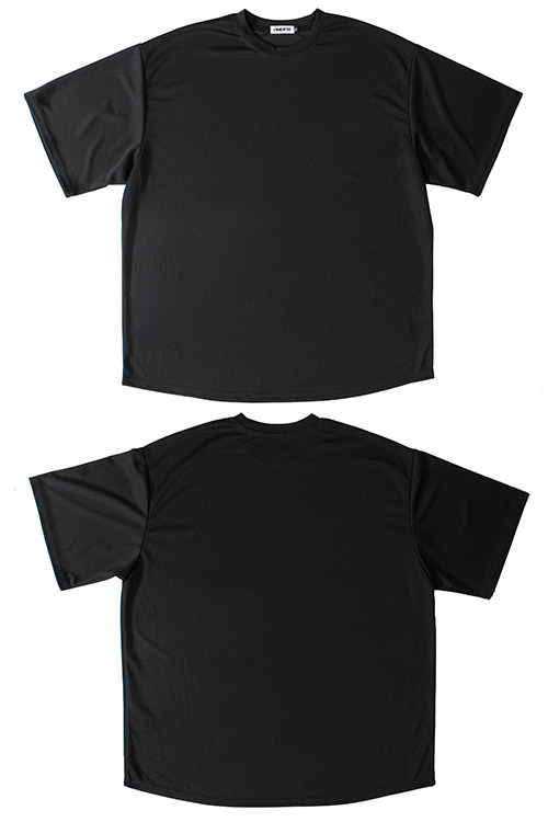 "2020SSMesh Tee""BASIC""BLACK"