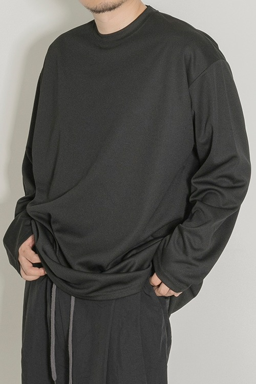 2020FWMesh Long SleeveBlack