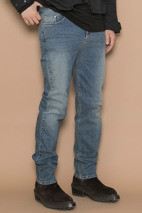 2020-2021 Blue Washed Jean New Slimfit