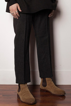 Denim Slacks Black