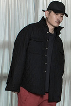 Black Wide Quilted Shirts