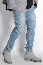 2018 Light Blue Washed Jean New Slimfit
